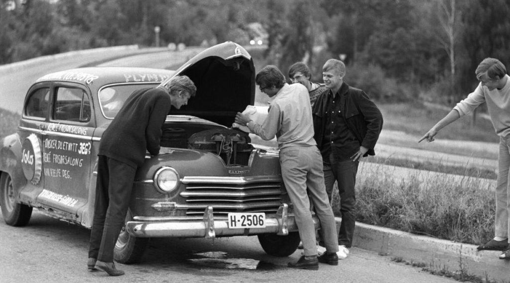 Russebil fra 50-tallet